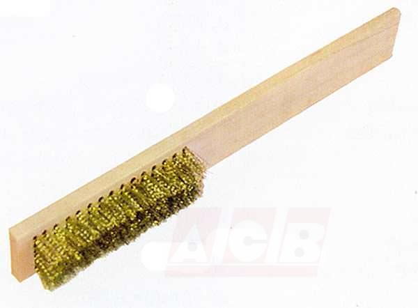 Brosse à bougie antidéflagrante