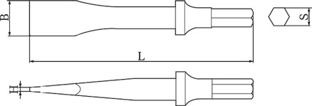 diagram pneumatic chisel non sparking