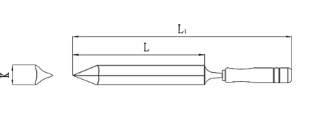 diagram scraper triangular non sparking