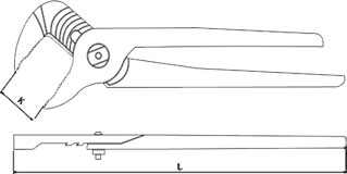 diagram groove joint pliers non sparking
